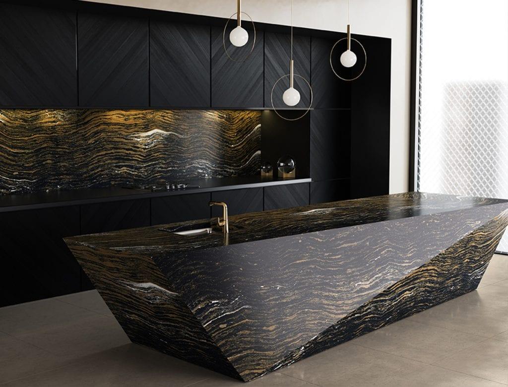 Golden Dragon Kitchen | K&D Countertops